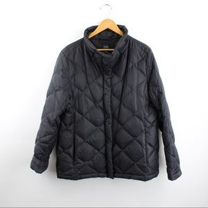Eileen Fisher Quilted Puffer